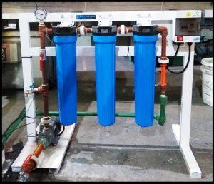 Equipo de Filtración con ozonizador para potabilización.
