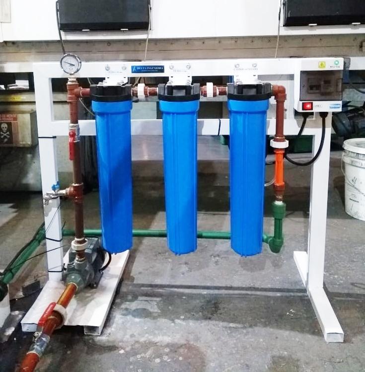 Equipo de Filtracion con ozonizador para potabilizacion