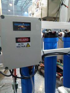 Ozonizador para potabilizacion